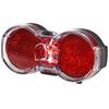 Busch + Müller Toplight Flat senso ajovalo , punainen/musta